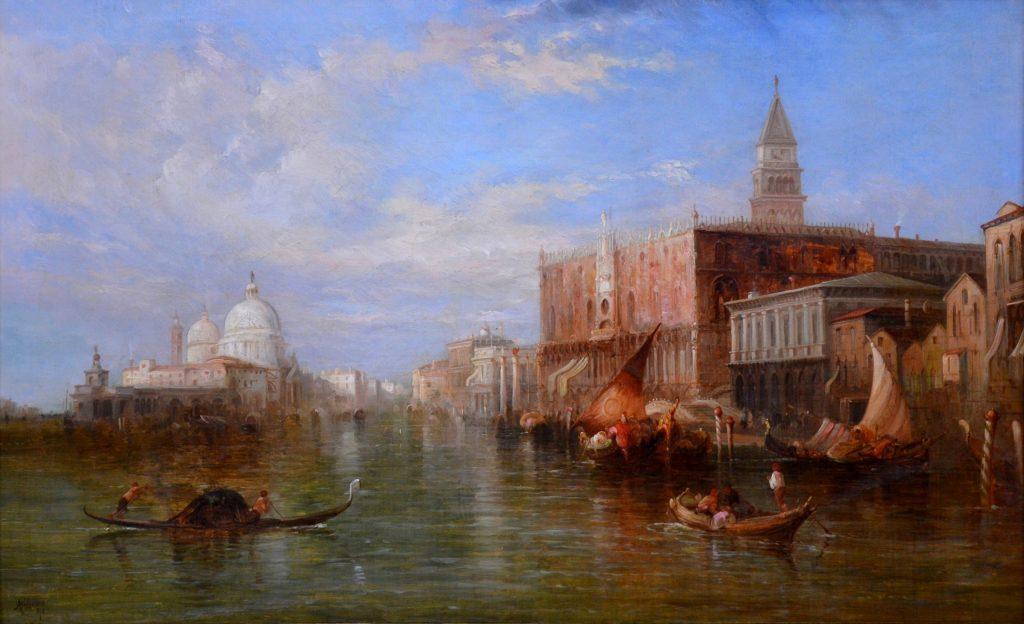 The Grand Canal, Venice Image
