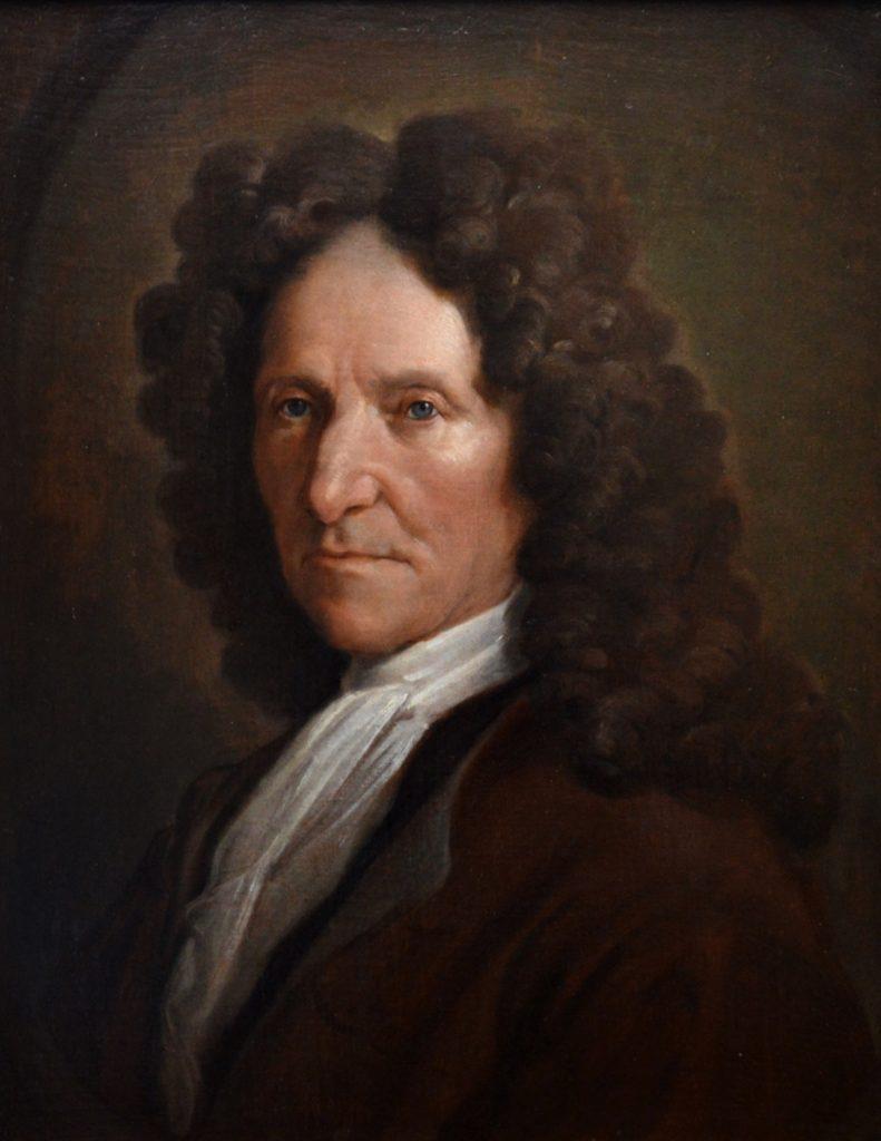 John Locke - 17th Century French Portrait Oil Painting Image
